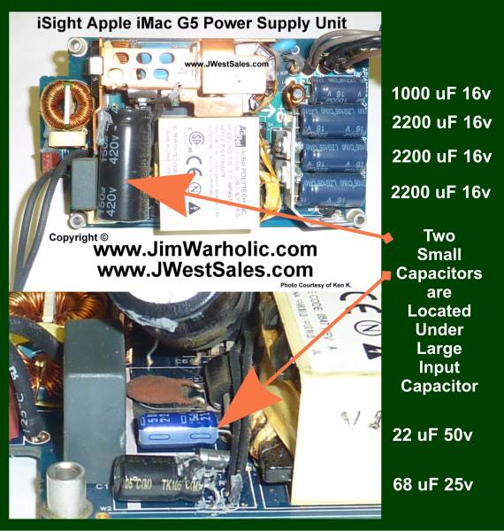 Apple iSight iMac PSU