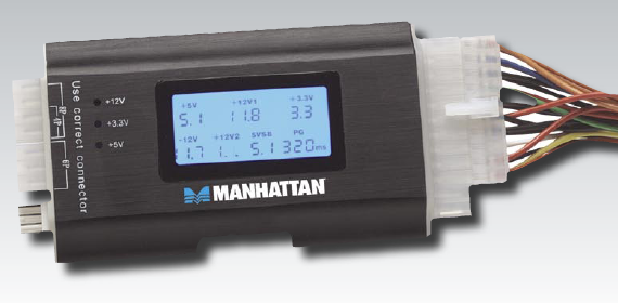 Manhattan Digital Power Supply Tester